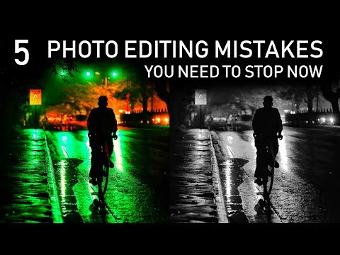 5 PHOTO EDITING MISTAKES You Need to Stop NOW thumbnail