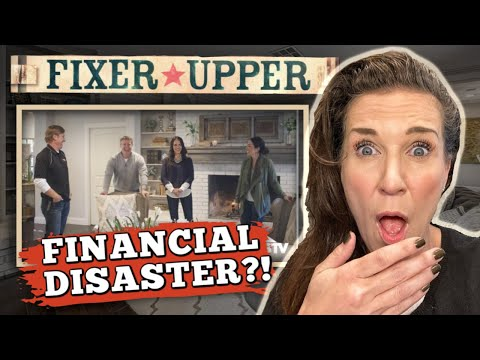 Real Estate Agent Reacts To Chip & Joanna Gaines FIXER UPPER (What A Mess)