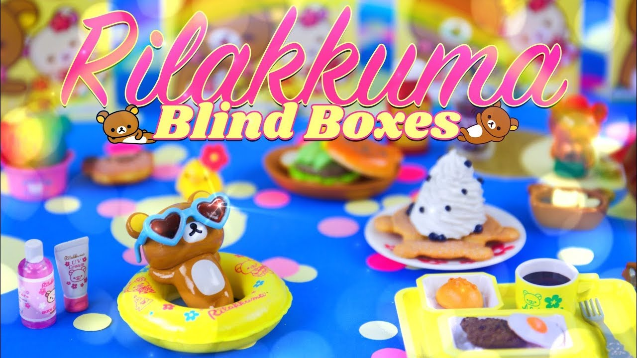 Unbox Daily: Re - Ment Aloha Rilakkuma Blind Boxes | COMPLETE SET