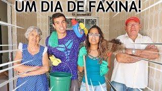 VIRAMOS FAXINEIROS POR UM DIA! - KIDS FUN