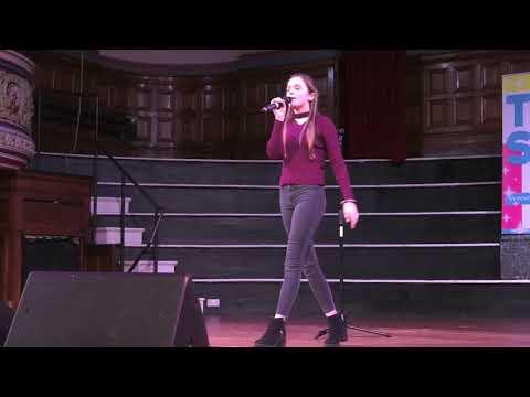 REBECCA ATKINSON at Dewsbury TeenStar Singing & Dance competition