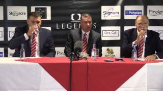 Doncaster Rovers Press Conference 16/10/15- Darren Ferguson Confirmed As Manager