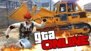 GTA ONLINE - УГАРНУЛИ С ПОГРУЗЧИКОМ ДО СЛЕЗ! #361