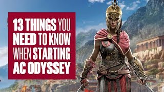 13 things to know when starting Assassin's Creed Odyssey