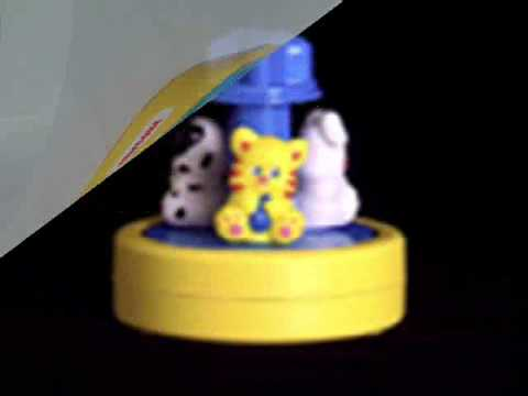 Shelcore Three Animals Spinning Musical Toy Youtube