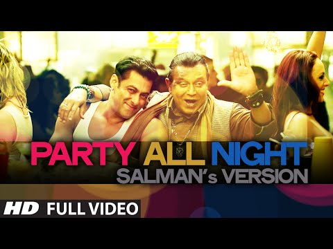 Exclusive: Party All Night Salmans Versi from Kick  Salman Khan, Mitho Chakraborty