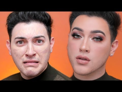 FULL COVERAGE GLAM MAKEUP TUTORIAL ON MANNY MUA