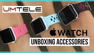 Unboxing Apple Watch Accessories from UMtele