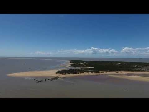 Phantom 4 - Long Distance flying to Xefina island  (4K)