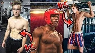 Who will win Logan Paul VS KSI Training Battle *NEW FOOTAGE* read desc streaming fight free