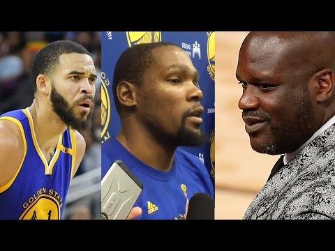 Shaqs Mom Tells Him to Leave JaVale McGee ALONE, Kevin Durant Steps In