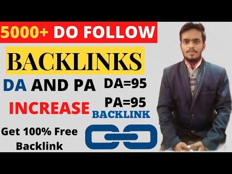 Free online backlink generator tool do follow backlink site off page seo | Free Backlink Generator