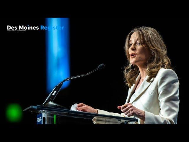 Full speech: Marianne Williamson   Iowa Democrats' Hall of Fame event (12/19)