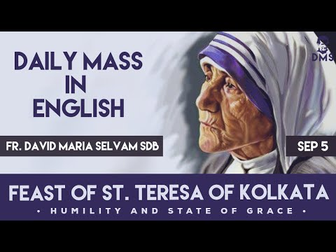 feast-of-mother-teresa---5th-sep-2020---daily-mass-in-english---fr.-david-maria-selvam