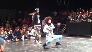 Juste Debout Japon LES TWINS best16  2011. 1. 11 tokyo hip hop
