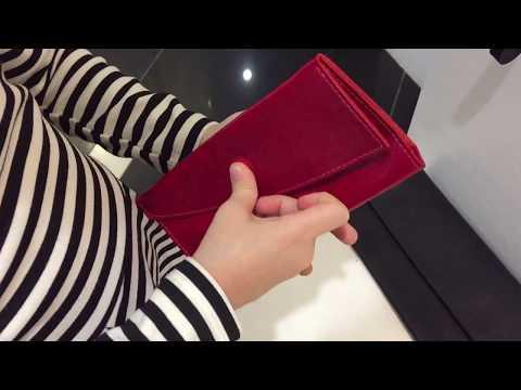 Кожаное портмоне красное | Интернет-магазин Am'Werkstatt | Аксессуары из натуральной кожи