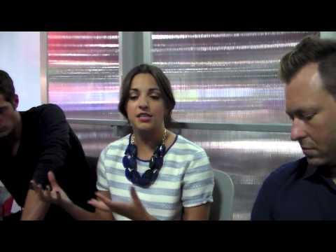 MAX STEEL MOVIE Ben Winchell, Ana Villafane, Stewart Hendler, Chris Yost Interview At Comic Con fragman