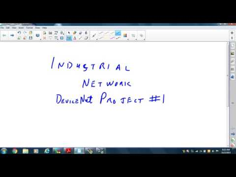 Industrial Networking Device NET project #1