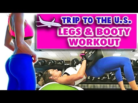 Gold Coast to LA | Leg & Booty Workout | Palm Springs