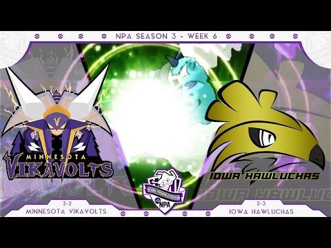 REGISTEEL THE FEARLESS! | Minnesota Vikavolts VS Iowa Hawluchas Week 6 NPA S3  | Pokemon Sun Moon