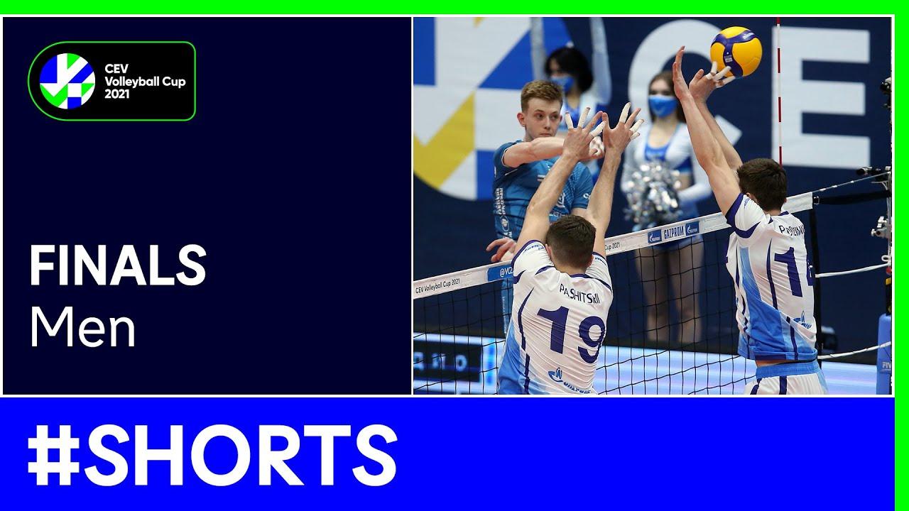 Zenit SAINT PETERSBURG vs. Dinamo MOSCOW #Shorts - #CEVCupM