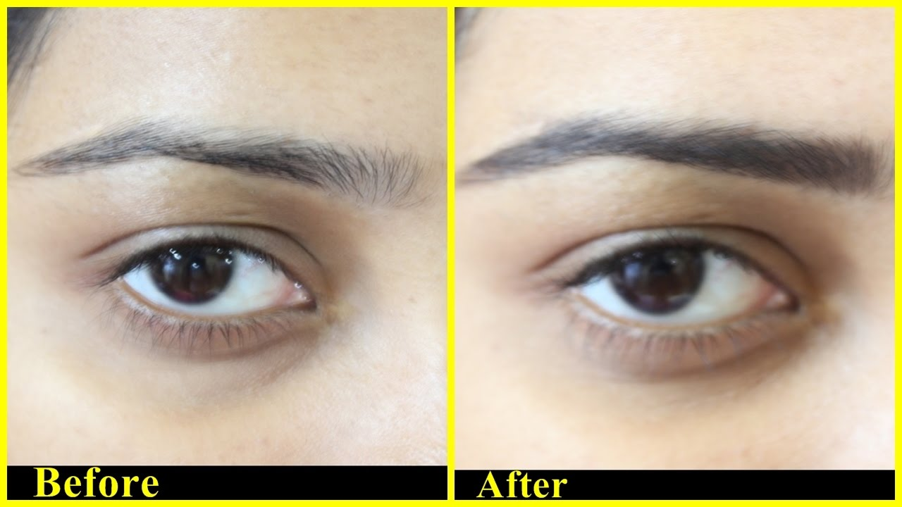 How To Fill In Eyebrows Using Eye Shadow For Beginners Eyebrow