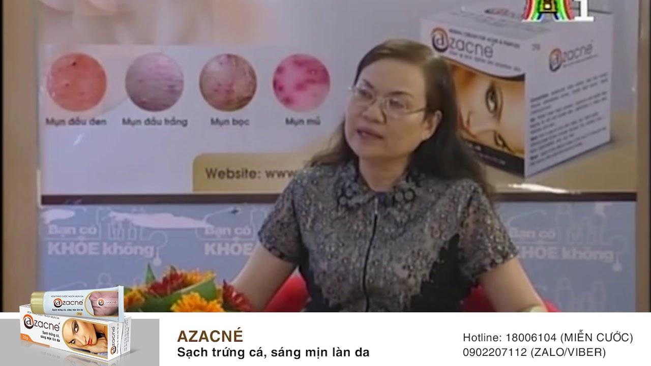 Thuốc bôi trị mụn trứng cá Azacné có an toàn không?