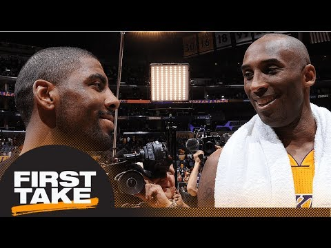 Stephen A. Smith on Kyrie Irving: He looks like a clone of Kobe Bryant | First Take | ESPN