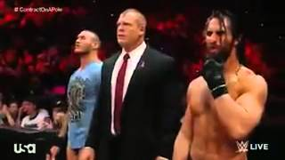 WWE john cena vs dean ambrose no hold barred full match RAW 13-10-2014