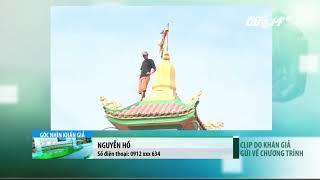 VTC14   TP HCM: Khống chế thành công thanh niên ngáo đá cố thủ trên nóc chùa An Phú.