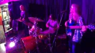 rebecca johnson band guitar drums bass solos livin for the city 26 9 14