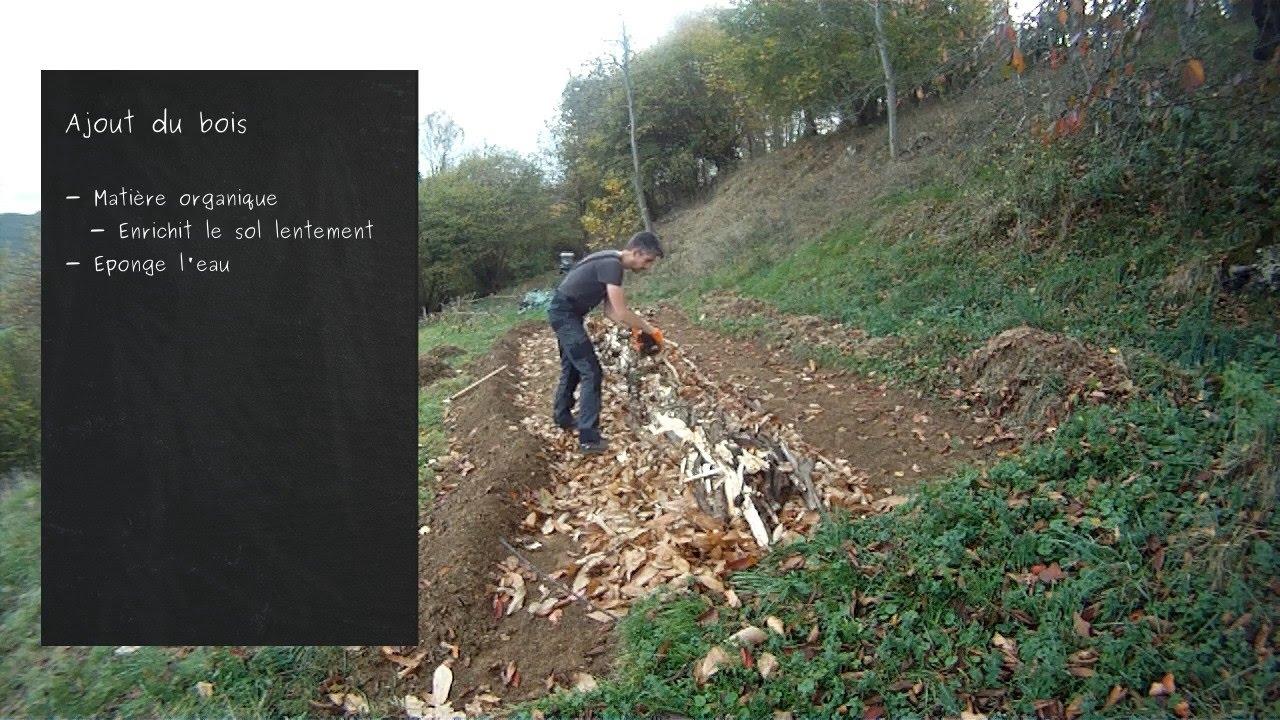 Permaculture cr ation d 39 une butte de type h gelkultur for Creer une butte permaculture