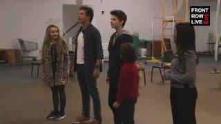 """Sabrina Carpenter & Kevin Quinn Sings """"Believe"""" by Josh Groban"""