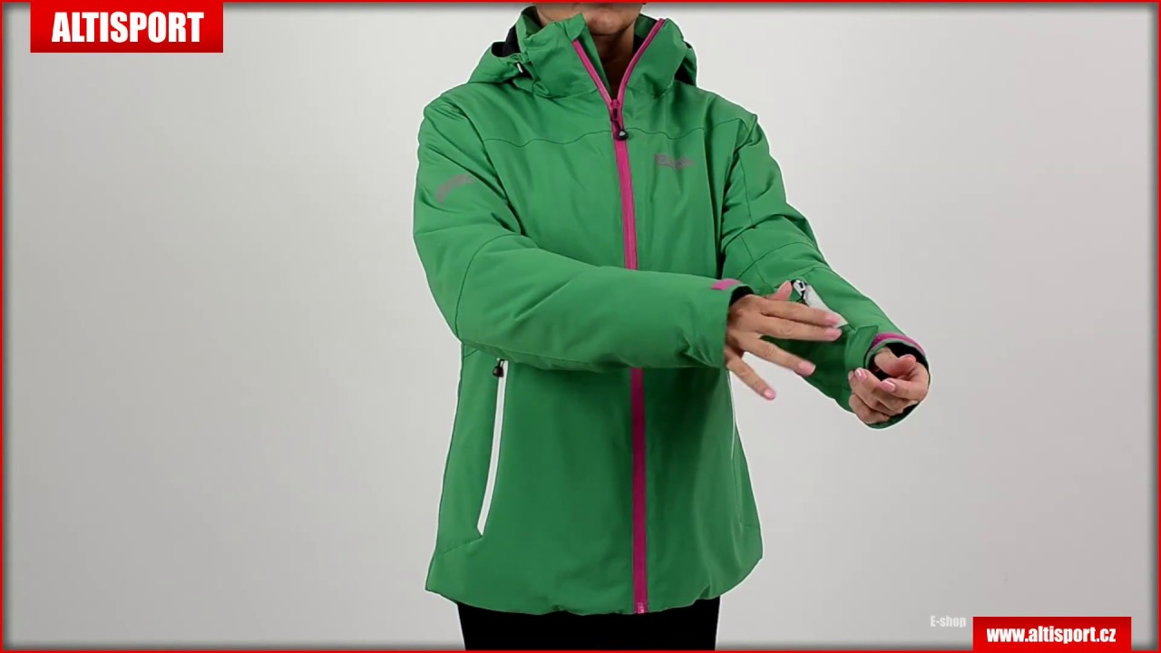 dámská zimní bunda nordblanc merit nbwjl5846 zelená - YouTube 233e2201ad