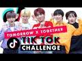 Are TOMORROW x TOGETHER the Best TikTok Dancers?! | TikTok Challenge Challenge | Cosmopolitan