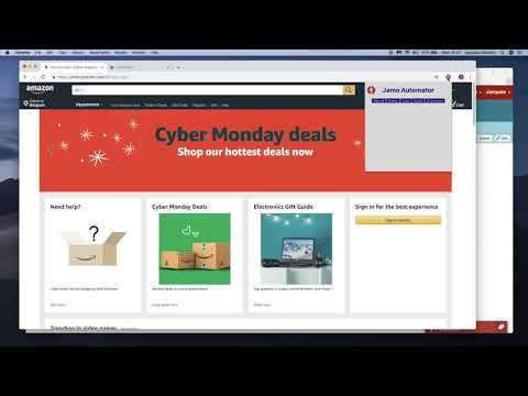 Jamo Automator: Clear The Shopping Cart On Amazon Shopping Web Site