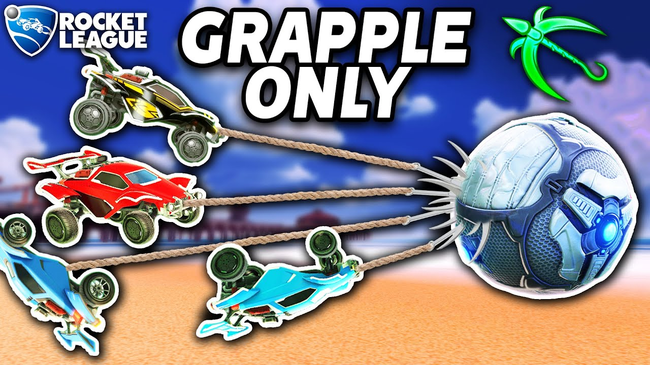GRAPPLE ONLY ROCKET LEAGUE IS HILARIOUS