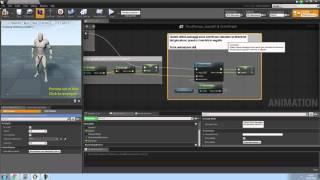 Unreal Engine 4 - Tutorial - Aggiungere animazione con blend space al player