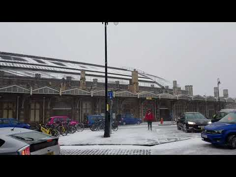 Temple Meads Blizzard 01/03/2018