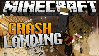 "Minecraft Crash Landing ModPack Lets Play ""Trouble in Paradise"" #6"