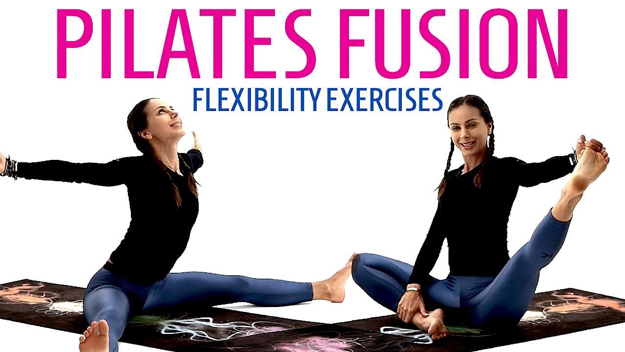 PILATES FUSION FLEXIBILITY EXERCISES | RESTORATIVE YOGA FOR LOWER BACK PAIN