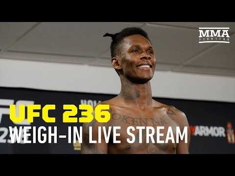 UFC 236 Official Weigh-in Live Stream - MMA Fighting