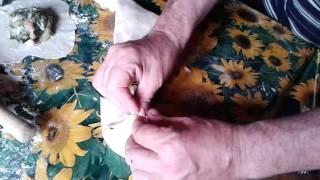 Лепим тандырную самсу