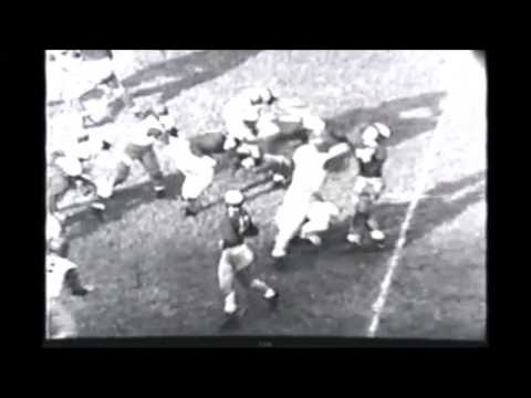 Classic College Football - 1940 - Penn crushes Yale 50-7 in Philadelphia - Highlights