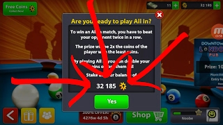 8 Ball Pool - GOING ALL IN! [NTL]