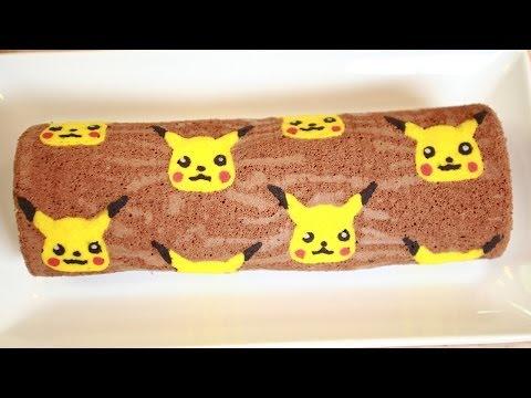 Generate PIKACHU CHOCOLATE ROLL CAKE - NERDY NUMMIES Screenshots
