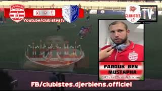 UNAF Cup : M1 : CA 3-1 Al Hilal : Déclaration Ben Mustapha 2017 Video