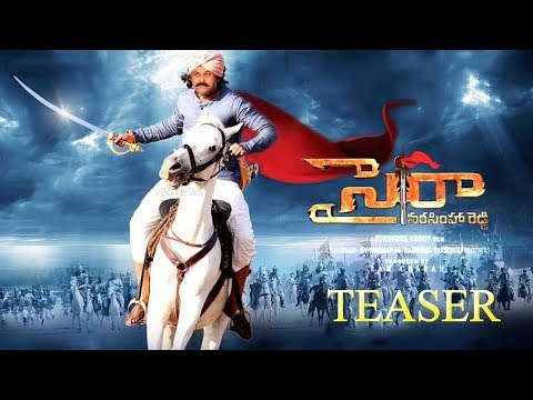 Sye Raa Narasimha Reddy | fan made teaser...