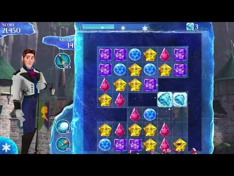 Frozen Free Fall Android Gameplay #5