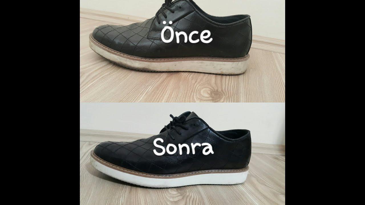 Ayakkabı Tabanı Temizleme Ayakkabı Beyazlatma Yöntemi Shoe